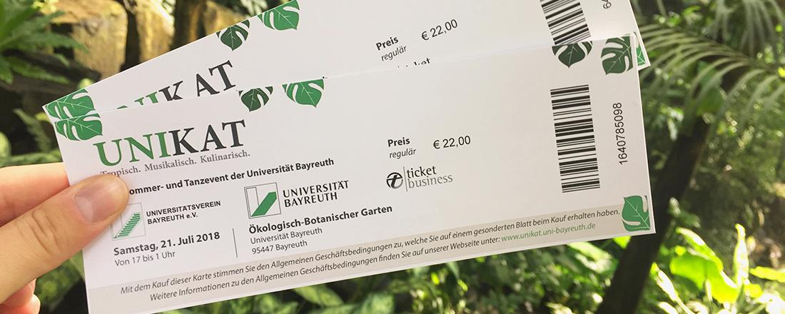 Bannerbild Tickets